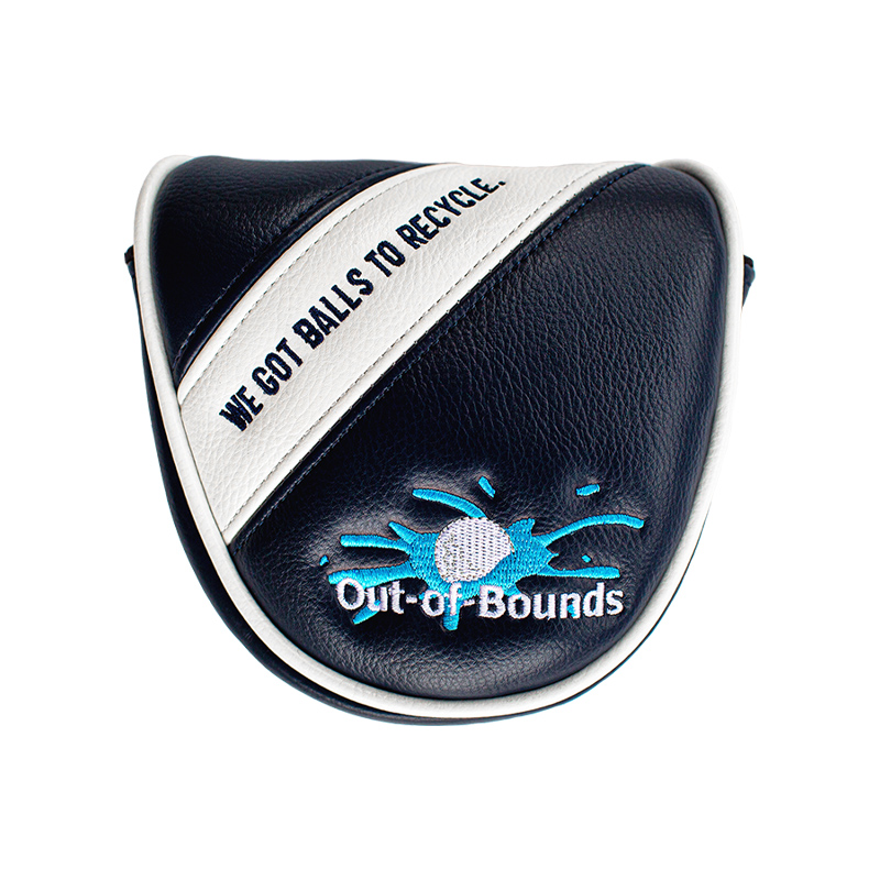 Out of Bounds Headcover Putter Mallet 0